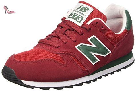 nouveau style b63f7 a84b6 New Balance Ml373smg, Baskets pour femme - rouge - rouge, EU ...