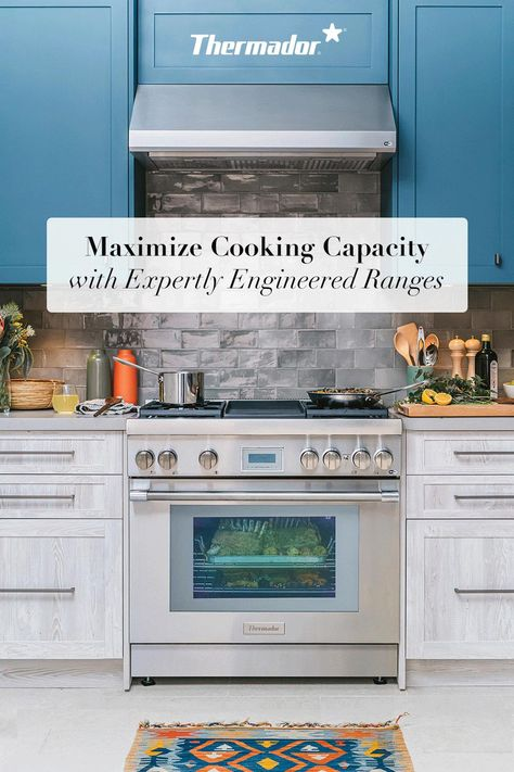 Maximize your cooking capacity with expertly engineered ranges - create the compact kitchen of your dreams.