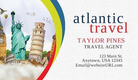 Travel Agent Business Cards Travelagent Travel Health Insurance