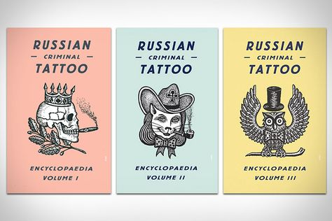 """Russian Criminal Tattoo Encyclopaedia,"" written by former prisoner and prison attendant Danzig Baldaev, examines the underground language of tattooing used by the criminal class of Russia."