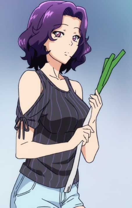 Almost Every Scene Of Azusa In The Grand Blue Anime People Wanted To See Her So Here She Is Enjoy Blue Anime Anime Azusa