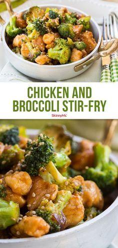 chicken and brocolli stir fry #spendwithpennies #stirfry #easyrecipe #quickrecipe #healthyrecipe #simpledishes #easycooking #easymealprep #veggiedishes #chickenrecipe