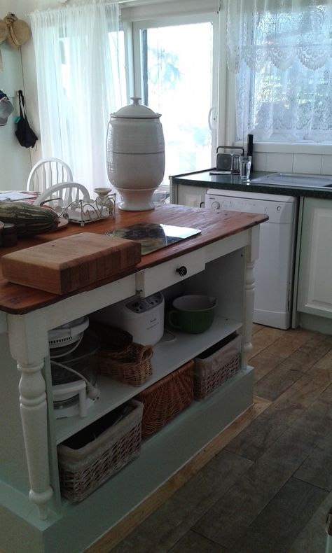 Enjoyable Dyi Project Upcycled Kitchen Island Bench An Old Kitchen Machost Co Dining Chair Design Ideas Machostcouk