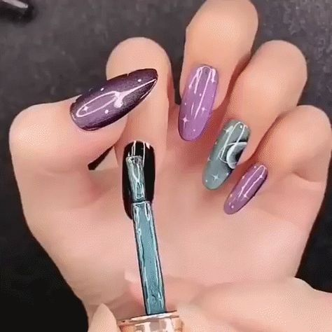 #coffinnails 50+ Coffin Nails Designs Trends Nail Art Ideas 2019 - Page 6 of 58