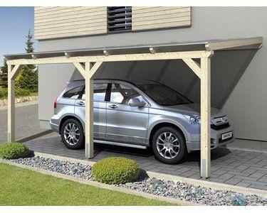 Skan Holz Carport Vogtland 300 Cm X 541 Cm Natur Kaufen Bei Obi Carport Holz Carport Haus