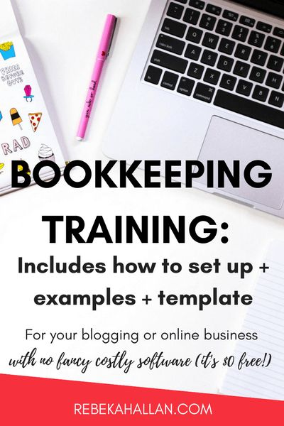 Do Your Bookkeeping | How to Set up + Examples + Templates