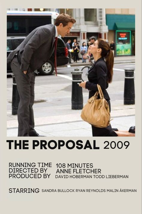 Movie Poster: the proposal