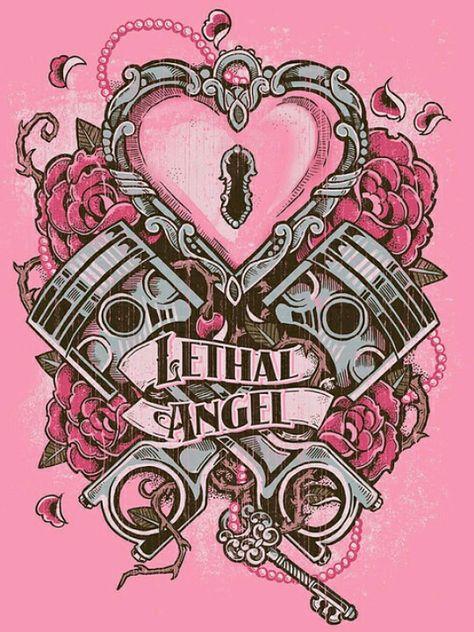 Piston And Wrench Tattoo Designs Girly piston tattoo