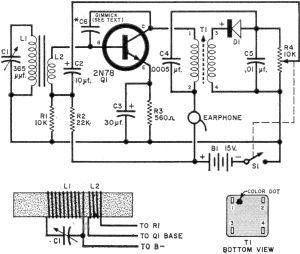 One Transistor Pocket Radio, July 1960 Popular Electronics - RF Cafe in  2021 | First transistor, Pocket radio, RadioPinterest