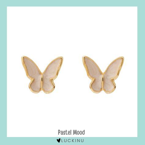 Pastel Mood Butterfly Earring S925 Hook $14.99