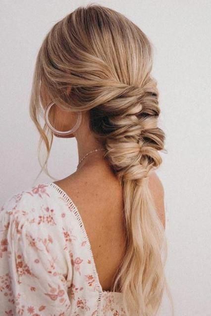 25 Gorgeous Wedding Hairstyles For Long Hair Wedding Hair Style Trends Southe In 2020 Braids For Long Hair Easy Wedding Guest Hairstyles Simple Wedding Hairstyles