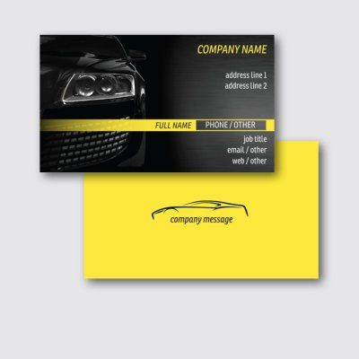 Automotive Transportation Standard Business Cards Templates Designs Page 2 Vistaprint Business Card Template Company Names Graphic Card