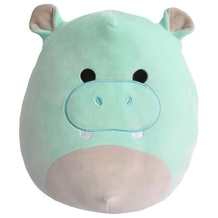Squishmallow 16 Hippo Plush 1 Ea Fluffy Stuffed Animals Cute Stuffed Animals Cute Plush