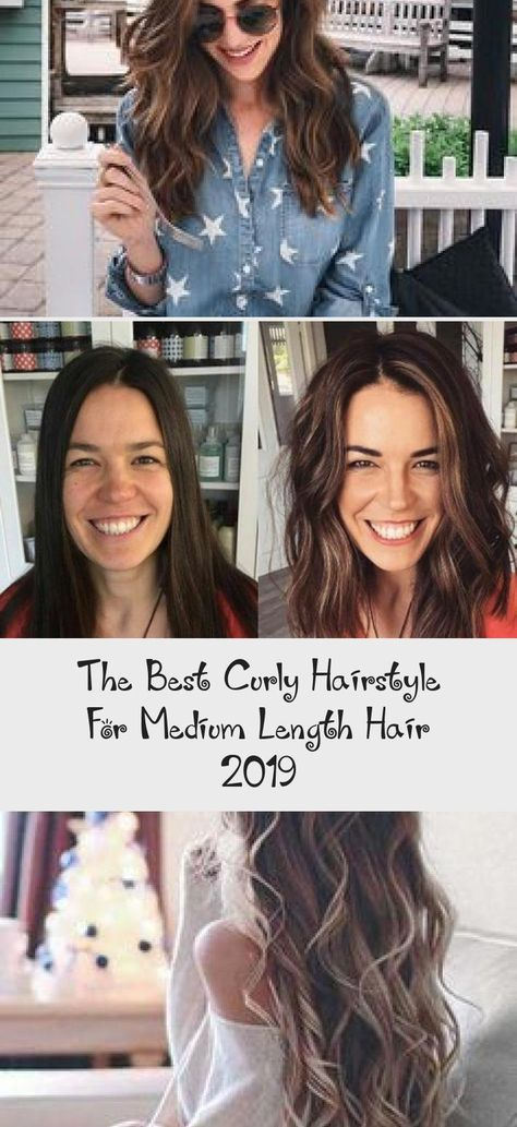The Best Curly Hairstyle for Medium Length Hair 2019 #hair#hairstyles#hairstylesformediumlengthhair#easyhairstyles#hairstylesforshool#curlyhair #hairstylesformediumlengthhairAfricanAmerican #hairstylesformediumlengthhairOver60 #hairstylesformediumlengthhairHaircuts #hairstylesformediumlengthhairNoHeat #hairstylesformediumlengthhairFor50