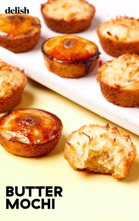 Butter Mochi is a classic Hawaiian sweet treat.