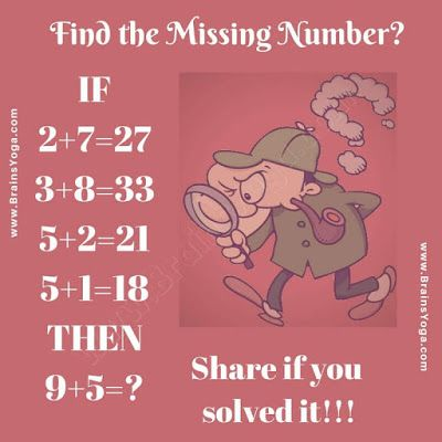 Logical Equation Picture Puzzle Brain Teasers With Answers Brain Teasers For Kids Brain Teasers