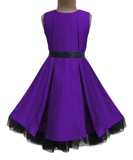 Andy /& Evan Girls Sassy Organza Party Dress