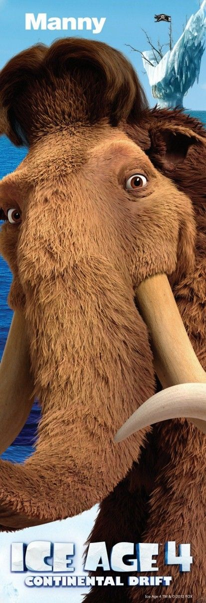 Personnage Age De Glace 4 : personnage, glace, Ice+Age+4+Character+Poster+(2).jpg, 413×1,206, Píxeles