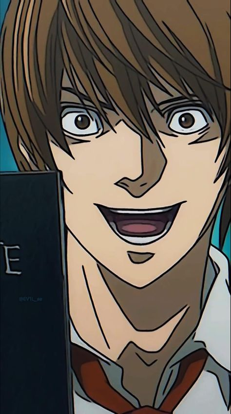 @ev1l_ae on TikTok #deathnote #anime #edit #video #yagami #light #kira #wallpaper #デスノート #夜神月