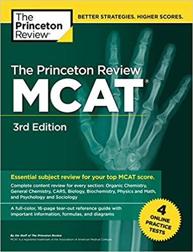 DOWNLOAD PDF] The Princeton Review MCAT, 3rd Edition: 4