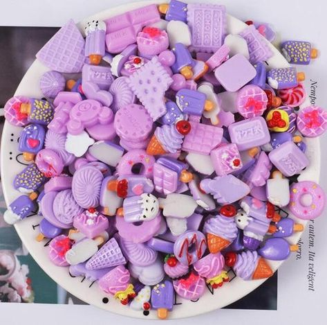 10Pcs Mixed Lot Cute Food Candy Scrapbooking Flatback Cabochons DIY Craft Kit