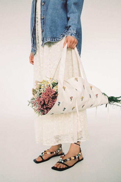 Bolso porta flores