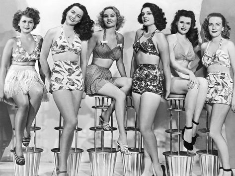 Timeline of dress codes: History of men telling women what to wear   Modest bathing suit ...