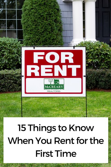 If you have never rented a home before, there are some important facts you should know before you sign on the dotted line.  Renting can be a great way to go before you decide to buy. In fact, some people choose to rent forever to avoid the perils of home ownership. So, what is important to know? When choosing your first home to rent, ask these 15 important questions.