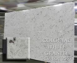 Colonial White Granite 3cm | Origin: India | Granite | Marble ...