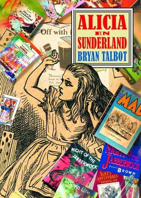 """Alicia en Sunderland es, en palabras de Bryan Talbot, un """"documental onírico"""" que trata temas tan universales como la Historia, los mitos, el arte de narrar, los sueños, la brevedad de la vida o el crecimiento de los hombres, y que se aproxima a ellos a través de docenas de historias que se estructuran alrededor de las conexiones entre Lewis Carroll, Alice Liddell y la ciudad de Sunderland y alrededores."""