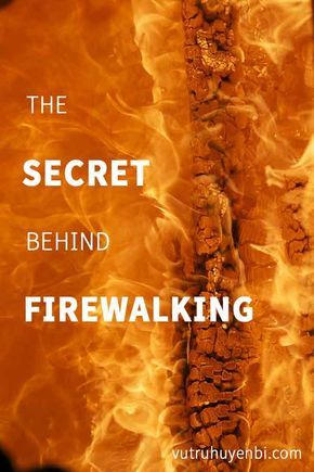 A miraculous healing to convincingly prove that firewalking is a