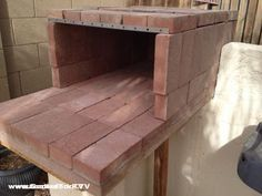 Video And Plans For A Brick Pizza Oven In Your Backyard With Used Clay  Bricks And Angle Iron