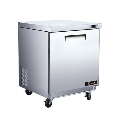 Ad Ebay Free Freight Liftgate New Commercial 1 Door Undercounter Refrigerator S S Insulation Materials Undercounter Refrigerator Refrigerator Freezer