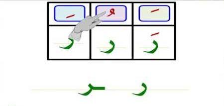 حرف الراء بالحركات Letters Symbols