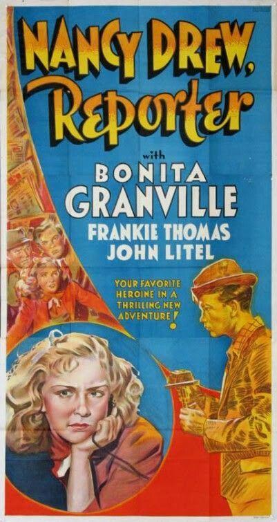 Nancy Drew Reporter 1939 Movie Posters 1930 S Movie