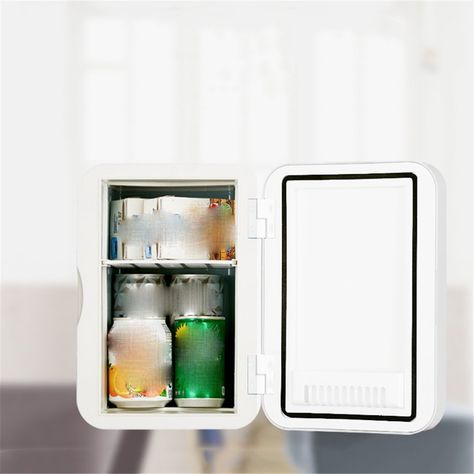 Stazsx Mini Small Refrigerator Small Car Refrigerator Single Door