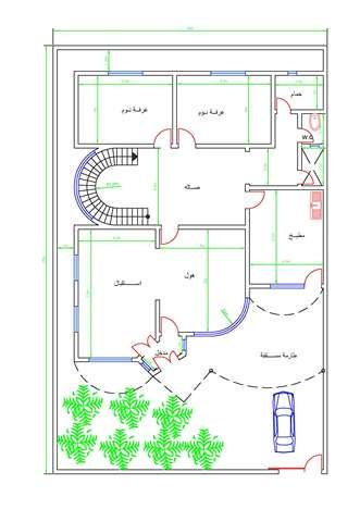 خرائط بيوت Town House Floor Plan Luxury House Plans House Floor Plans