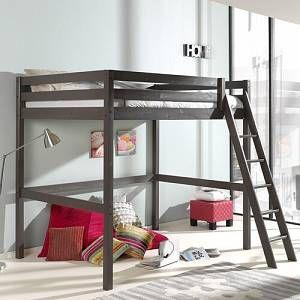 Ethridge High Sleeper Bed Zoomie Kids Size European Double 140 X