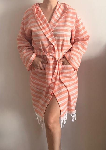 Turkish Towel Robe Father S Day Gift Unisex Ecofriendly Beach
