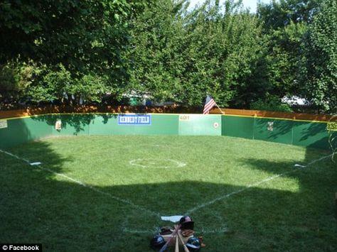Delaware Family Builds Its Own Field Of Dreams Baseball Backyard Baseball Backyard Sports Backyard