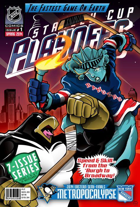 NHL-COMICS Presents... by Epoole88