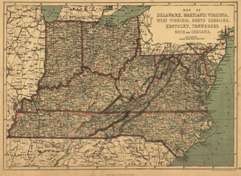 Hamilton Nc Map.Map Antique Map Of Delaware Maryland Virginia West Virginia North