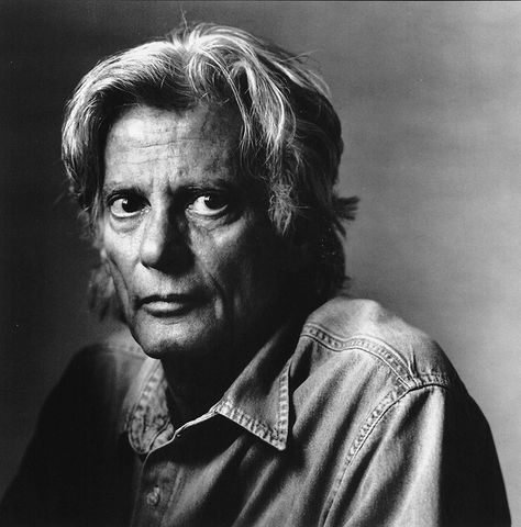 Richard Avedon (1923-2004) - American fashion and portrait photographer. Photo © Irving Penn
