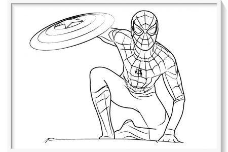 Spiderman Para Colorear 130 Imagenes Del Hombre Arana Para Pintar Hombre Arana Para Pintar Spiderman Dibujo Para Colorear Dibujo Del Hombre Arana
