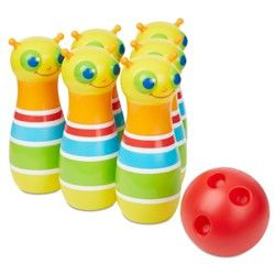 Melissa Doug Sunny Patch Giddy Buggy Crawl Through Tunnel Almost 5 Feet Long In 2020 Bowling Kids Bowling Melissa And Doug