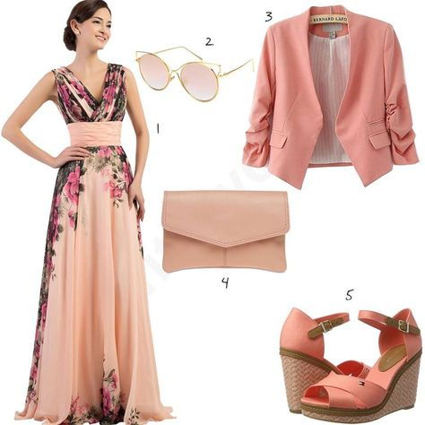 Elegantes Damen Outfit In Altrosa W0426 Mit Bildern Outfit Frauenmode Mode