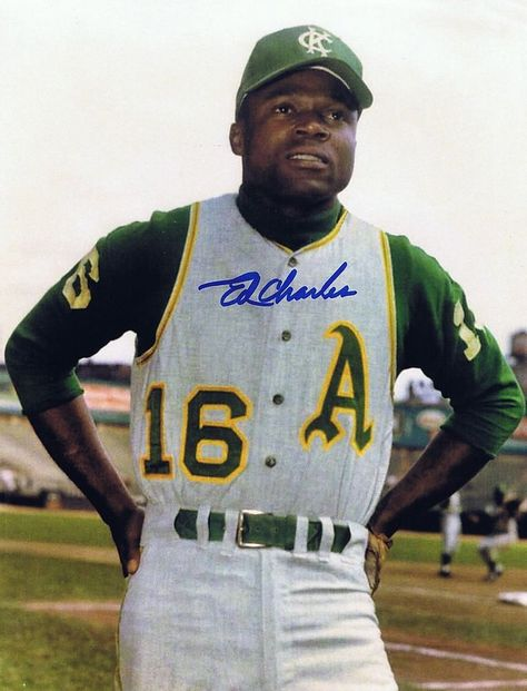 Ed Charles Autographed Signed 8x10 Photo - W/COA - 1969 Mets WS Champion KC A's