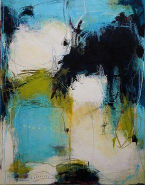 Maleri Billede Fra Tina Woulhoj Jakobsen Abstract Painting Abstrakte Malerier Abstrakt Kunst