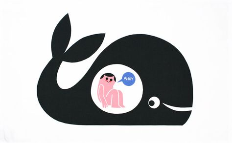 Jonah and the whale.
