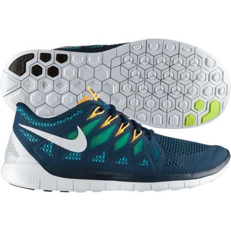 32769344ee38 Cheap Nike Mens Free 5.0 Running Shoes Nightshade Turbo Green 642198 ...